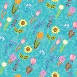 Summer flower background Stock Image