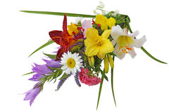 Summer Flower Bouquet Royalty Free Stock Images