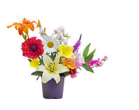 Summer Flower Bouquet Royalty Free Stock Photo