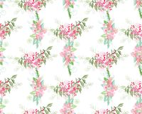 Summer flower composition Stock Photo