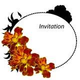 Summer flower, isolated on white background. Element for design stock illustration