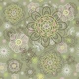 Summer flower pattern Royalty Free Stock Photo