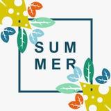 Summer flower vector design best art full color. Summer flower vector design for your industry business Stock Photography