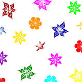 Summer flowers background. Illustration Royalty Free Stock Images