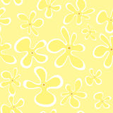 Summer flowers seamless pattern Royalty Free Stock Photo
