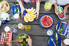 Summer food Royalty Free Stock Images