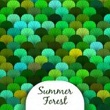 Summer Forest Scaly Texture Royalty Free Stock Photo