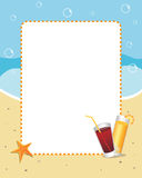 Summer frame Royalty Free Stock Image