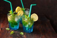 Summer fresh drink mojito Royalty Free Stock Photos