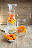 Summer fresh fruit drink Stock Images