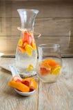 Summer fresh fruit drink Stock Images