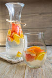 Summer fresh fruit drink Stock Photo