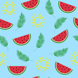 Summer fresh pattern Royalty Free Stock Image