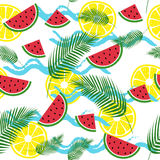 Summer fresh pattern Stock Image