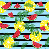 Summer fresh pattern Stock Photo