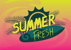 Summer fresh Stock Photography