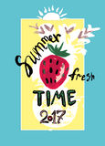Summer Fresh Time. 2017. Stock Photography