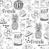 Summer freshness background Royalty Free Stock Photo