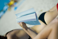 Summer friendly relaxation Stock Photography