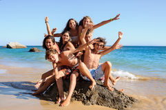Summer friends Royalty Free Stock Images