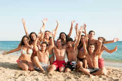 Summer friends Stock Photos