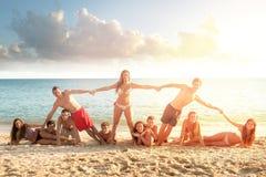 Summer friends Stock Photography