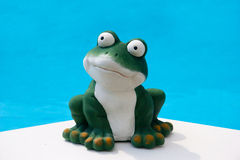 Summer frog Stock Photo