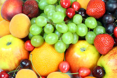 Summer fruit. Stock Image