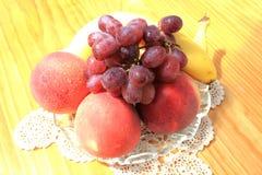 Summer fruit bowl Stock Photography