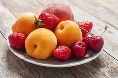 Summer fruit Stock Image