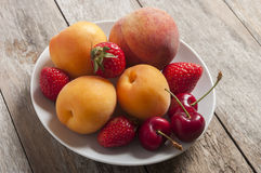 Summer fruit Royalty Free Stock Photography