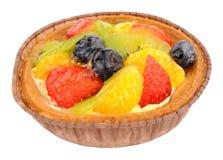 Summer Fruit Dessert Tart Stock Photo