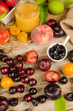 Summer fruit Royalty Free Stock Photos