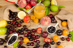 Summer fruit Stock Image