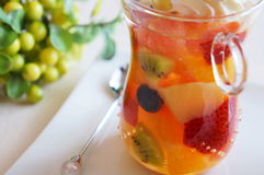 Summer Fruit Jelly Stock Image