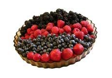 Summer fruit medley stock photo