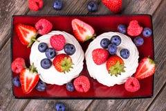 Summer fruit platter Royalty Free Stock Image