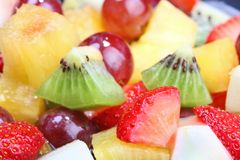 Summer fruit salad Stock Image