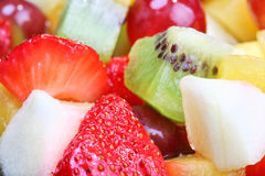 Summer fruit salad Stock Images