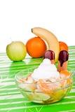Summer fruit salad Royalty Free Stock Photo