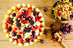 Summer fruit salad Royalty Free Stock Photography