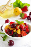 Summer Fruit Salad Royalty Free Stock Images