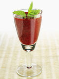 Summer fruit smoothie Stock Images