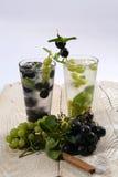 Summer fruit tea Stock Photography