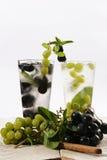 Summer fruit tea Stock Photo