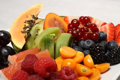 Summer fruit variation Stock Image