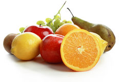 Summer fruits. Fresh Vegetables, Fruits and other foodstuffs. Shot in a studio Royalty Free Stock Images