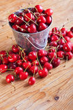 Summer fruits - cherries Stock Photo