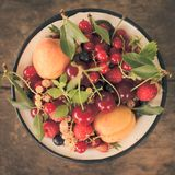 Summer fruits Stock Image