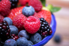 Summer fruits macro Royalty Free Stock Photo